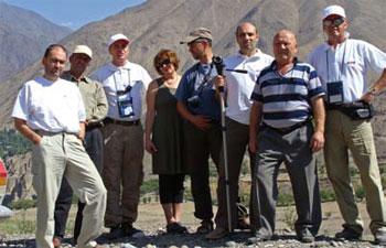 Членовете на експедицията
