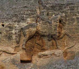 Мадарският конник в България